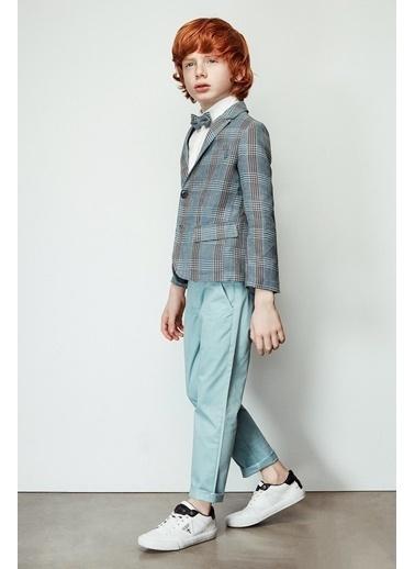 Nebbati Erkek Çocuk Yeşil Pantolon 19SS2NB3222 Yeşil